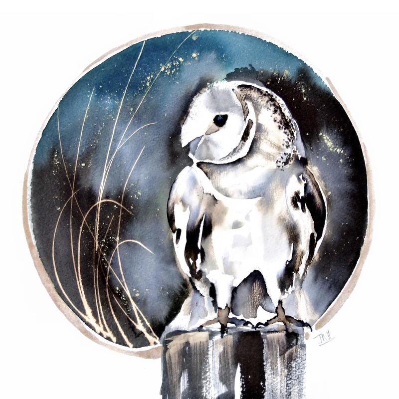 Owl Print limited edition