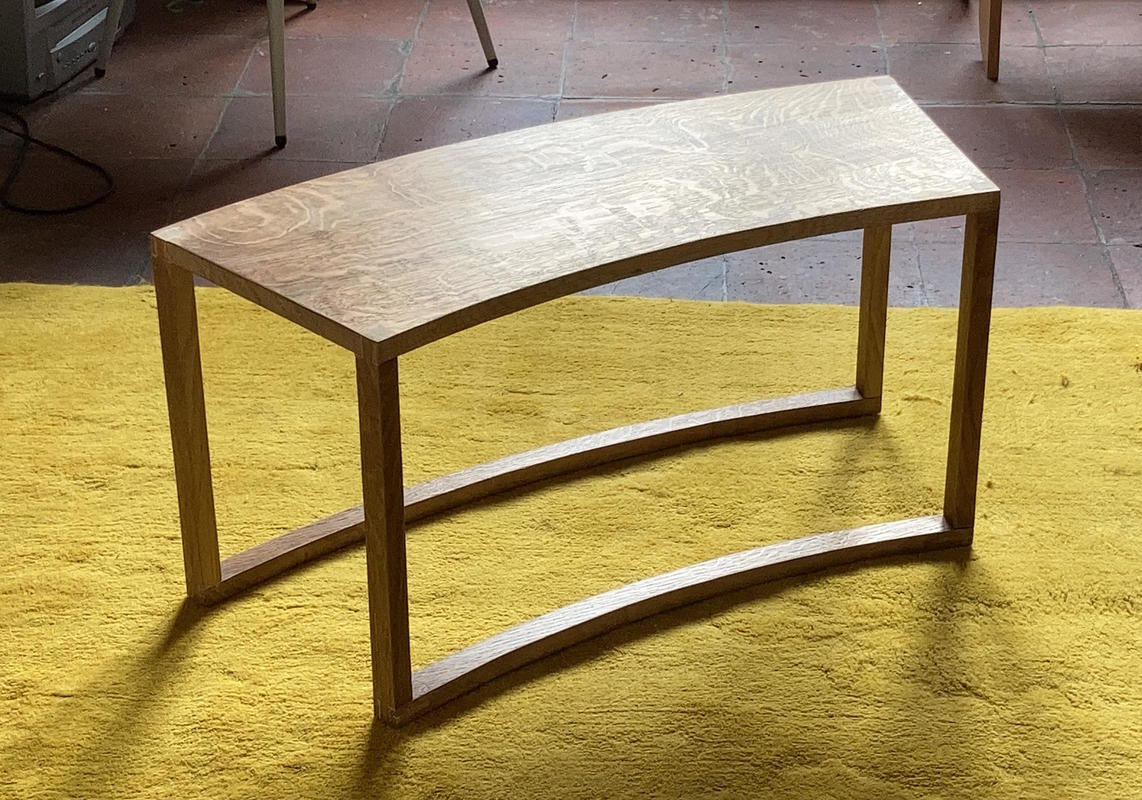 Rapport coffee table by Estop Wood Design