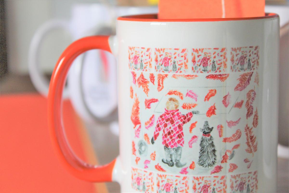 Autumn seasonal mug