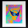 "CATWOMAN No 3 ""LEE"" - Emulsion / Acrylic Ink - Approx 600 x 700 mm"