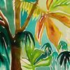Tropical Blue - Watercolour on Arches Paper (23cm L x 31cm W) £85
