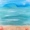 Blissful, brusho beach