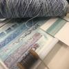 Hand dyed yarns - The design process