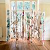 LIMINAL 55. 200cmx200cmx200cm.  Paper, thread, glue. 2015