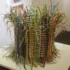 Plumage - a free standing woven piece in paper yarn