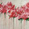 April Showers, Acrylic on Canvas, 150x100cm