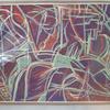 Woodcut print- abstract