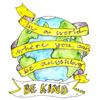 Be kind - faux calligraphy quotes