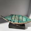 Boat wreck sculpture ceramic Amanda Toms