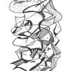 """Title: """"Different directions"""" Permanent Marker & Graphic Pens on paper. Original NFS Limited to 150 Giclée prints"""