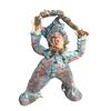 juggler ,artwork ceramic ,figure ,clown ,sculpture,contemporary,whimsical,statue