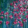34 Rose Arch, Acrylic on Canvas, 80x60cm