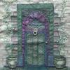 Violet and Green Door