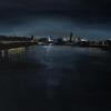 Canary Wharf. Acrylic on canvas