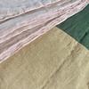 Agnes Quilt Detail - Linen & cotton (100 Hours Textile Design)