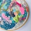 Freestyle abstract embroidery art