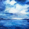 'Isle of Skye' 30cm x 30cm  Acrylic Framed size 60cm x60cm £220.00