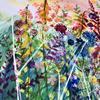 An original mixed media painting by Jay Nolan-Latchford - Summer Daze