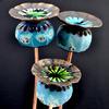 ceramic poppy seed heads