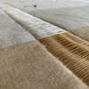 Reflektor Quilt Detail - Linen, silk & cotton (100 Hours Textile Design)