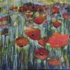 Poppies ..Acrylic on canvas