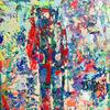 'El extranjero' acrylic on canvas 30 x 30cm