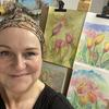Art Instructor Gabrielle Vickery