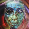 'Introspection' (78x62cm framed) Mixed Media (Janet Cawthorne)
