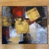 Acrylic paint print canvas