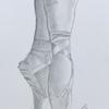 'Ballet Shoes' framed pencil sketch