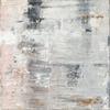 Blush abstract No.1, 20 x 20 cm acrylic on box canvas, print £20 +p&p