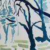 Winter trees II- Watercolour on Arches paper (23cm L x 31cm W) £45