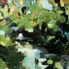 Flow, mixed media, 34 x 34 cms, £200