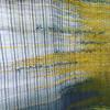 Detail of a bespoke woven art panel.