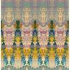 Diffused Summer Print on silk