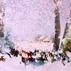 Winter's Blanket. Watercolour. SOLD