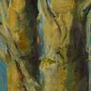 Garden Trees 3, 40x120cm