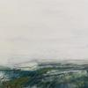 Lost Seagrass Meadow | 2020 | Mixed media on board | 21x51cm