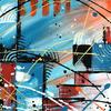 Acrylic Abstract on Canvas