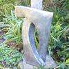 'Affection lll' Aluminium resin Garden Sculpture by John Brown