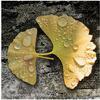 Digital art, Ginkgo leaf, Ancient 1