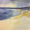 Skye Beach, mixed media