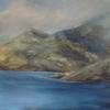 Cuillin, Skye, mixed media