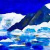 Antarctica - acrylic on canvas