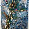 'Ash Tree' Mixed Media 15x23cm