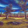 Oil Canvas | A3 | Brush