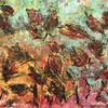"""Autumn Leaves with Acrylic (On Paper Approx size A2 16"""" x 23"""")"""