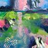 Awaken  _ Acrylic on wood panel _ 30 x 30cm Framed
