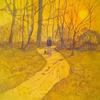 'A Walk in the Park'  Acrylic