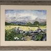 Lakeland Idyll - watercolour